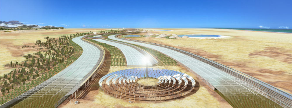 The Sahara Forest Project. Image: Exploration Architecture