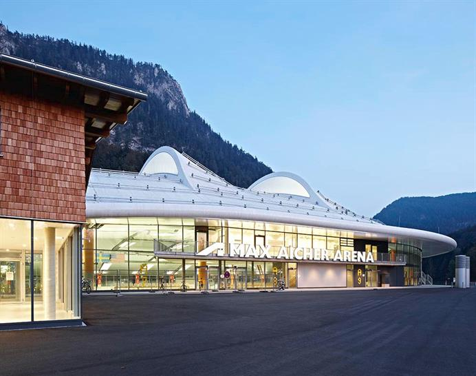 Speed Skating Stadium Inzell, Germany - Behnisch Architekten Pohl Architekten