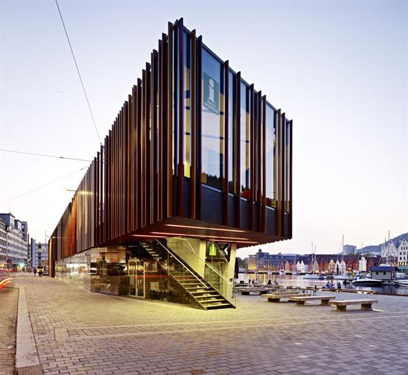 Fish Market in Bergen, Norway - Eder Biesel Arkitekter AS