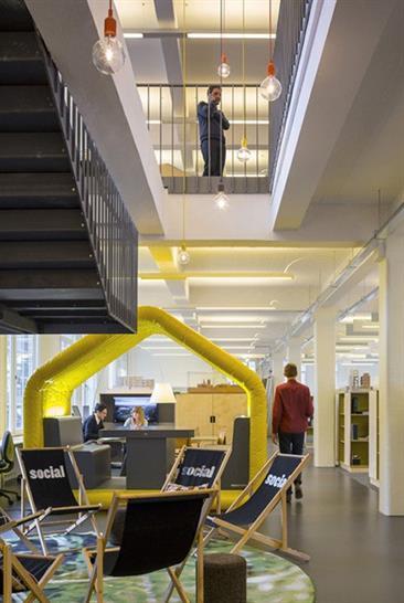 Hawkins\\Brown Offices. Image: Tim Crocker