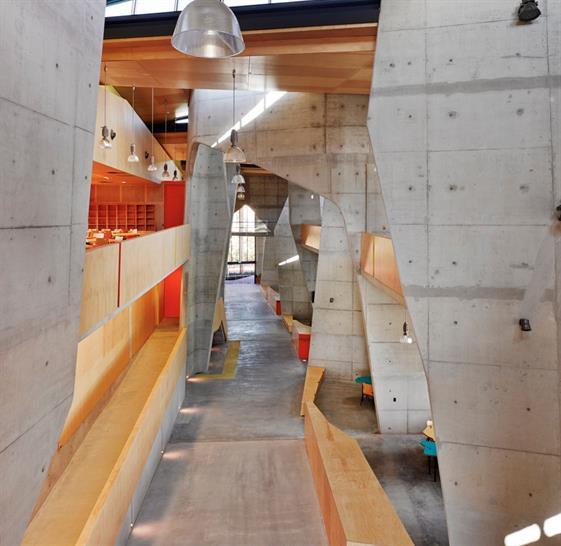 Abedian School of Architecture, CRAB Studio
