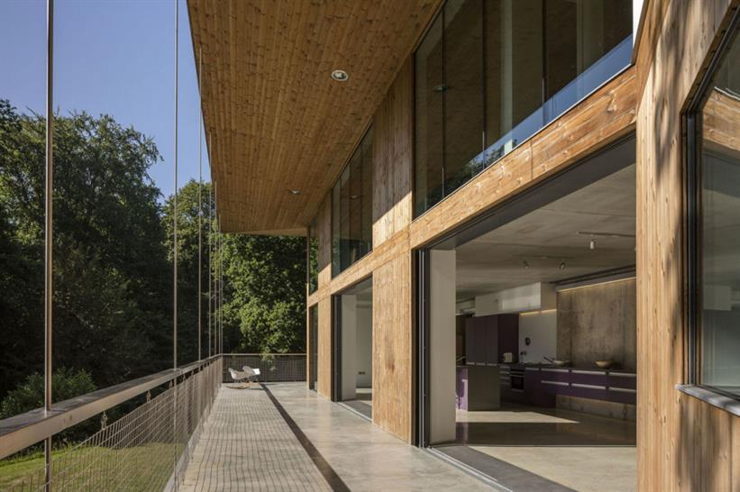 Red Bridge House, Smerin Architects. Image: Tim Crocker