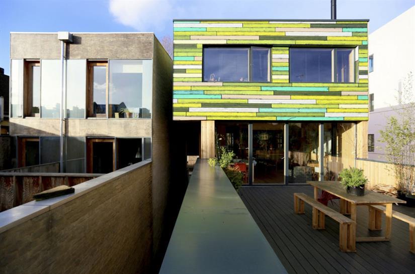 WoodBlock House, dRMM Architects. Image: Alex de Rijke