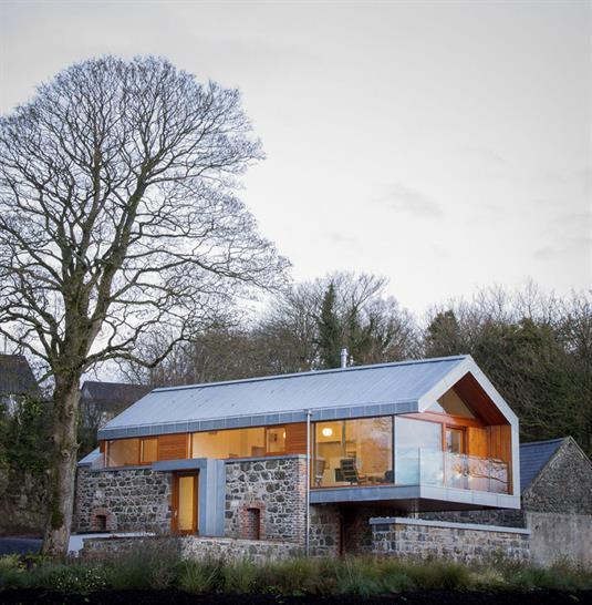 Loughloughan Barn, McGarry-Moon Architects Ltd. Image: Adam Currie