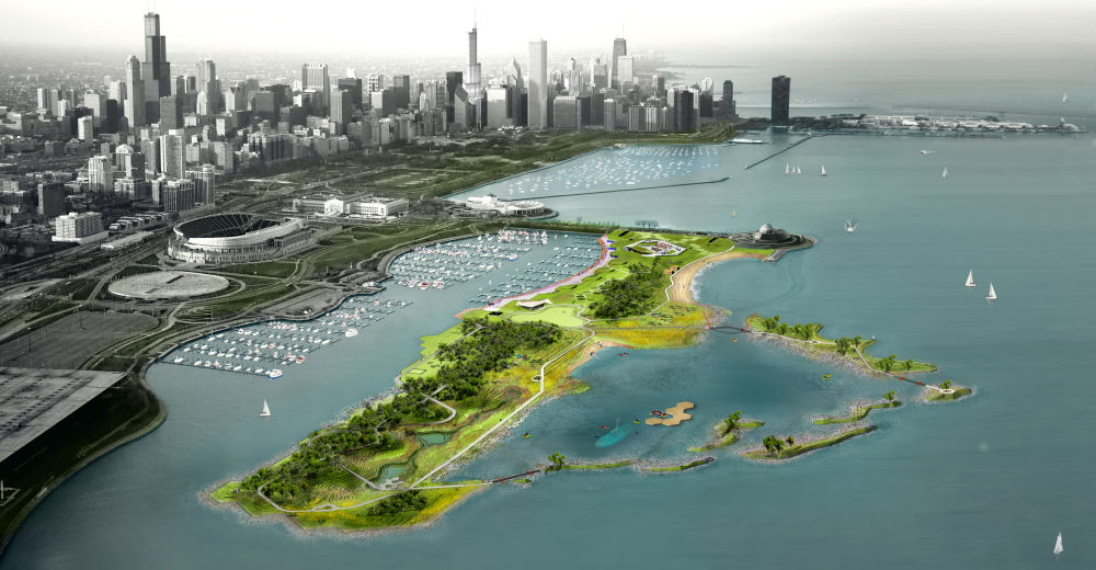 Northerly Island. Image: Studio Gang