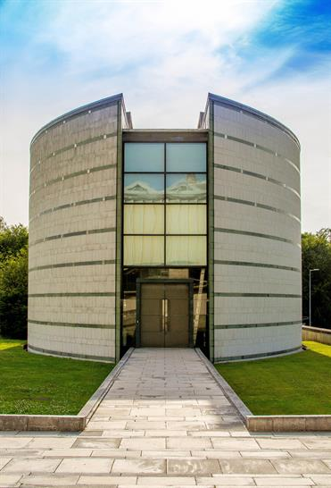 The Ruskin Library and Research Centre, Lancaster University. Image: Masud Khokhar
