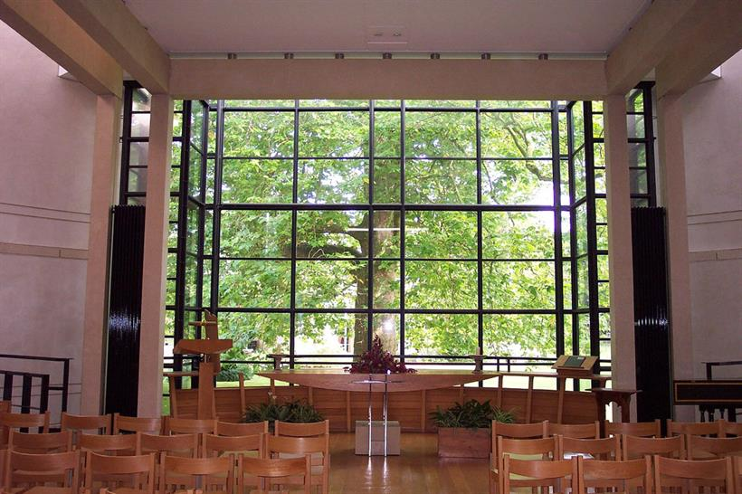 Chapel at Fitzwilliam College Cambridge. Image: artq55