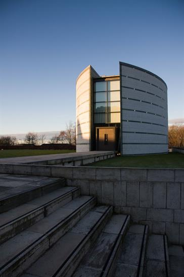 The Ruskin Library and Research Centre, Lancaster University. Image: Christian Cable