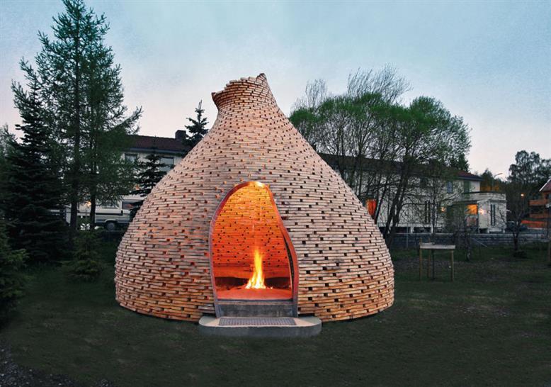 Haugen/Zohar, Fireplace for Children, Trondheim, Norway. Image: Haugen/Zohar Arkitekter/TASCHEN
