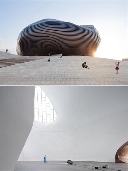 Ordos Museum, MAD Architects