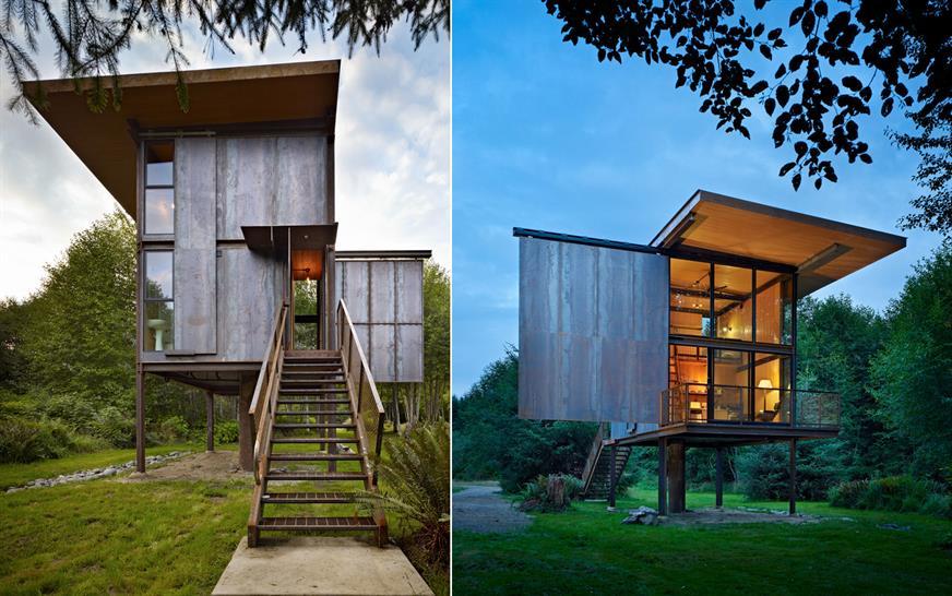 Sol Duc Cabin, Olson Kundig Architects