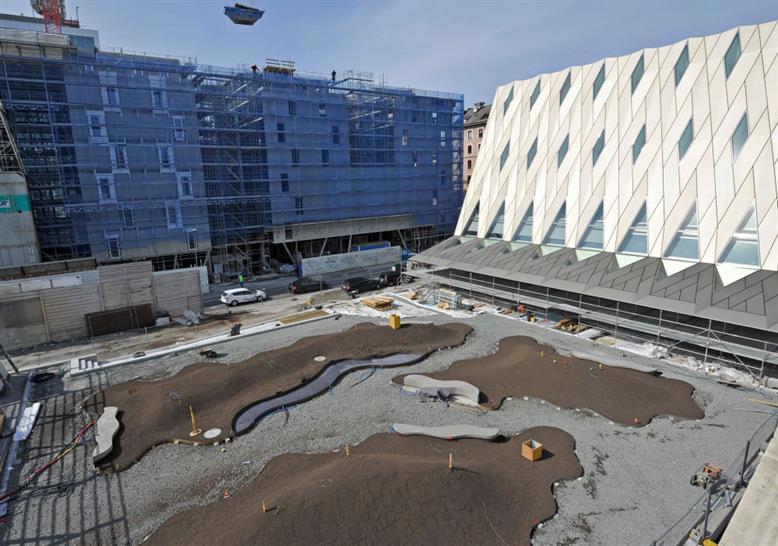 During construction. Image: MEG, J. Watts