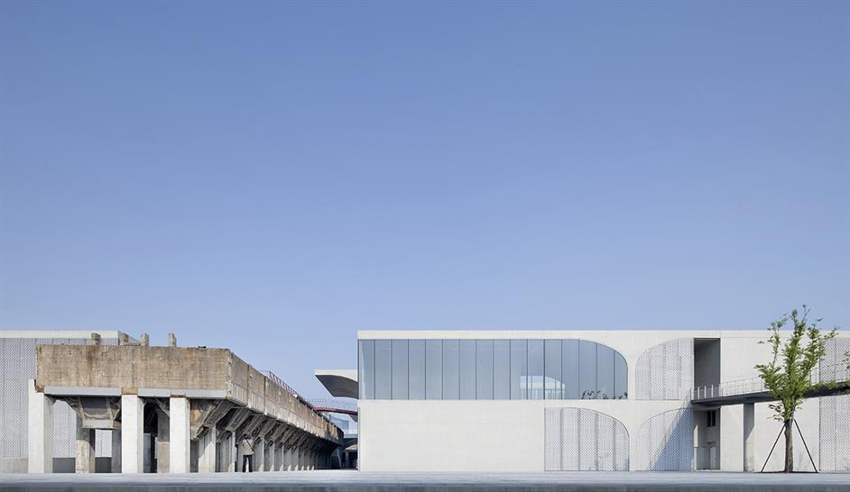 Southeast facade: Xia Zhi