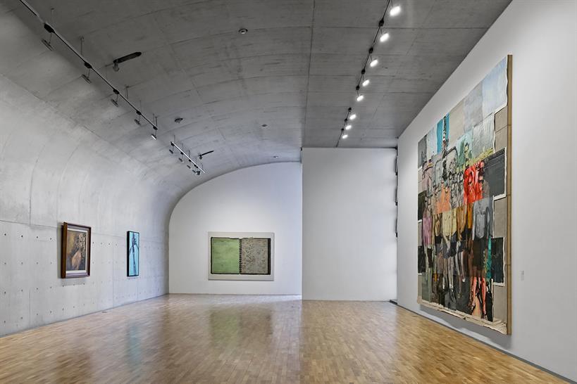 Contemporary art gallery, second floor: Su Shengliang