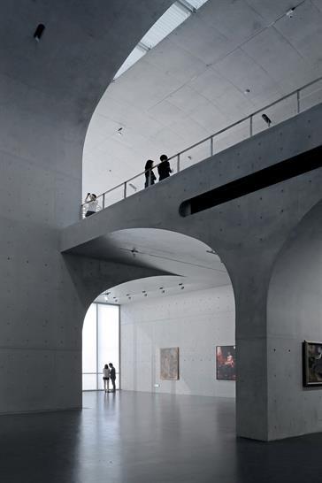 Contemporary art gallery, first floor: Su Shenglian