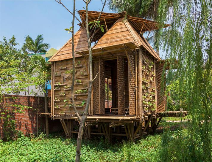 Blooming Bamboo House by H&P Architects