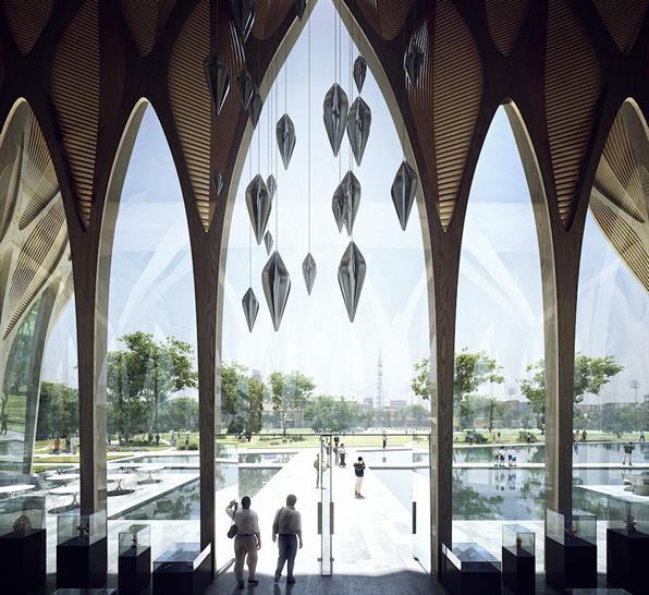 Image: Sleuk Rith Institute/Zaha Hadid Architects