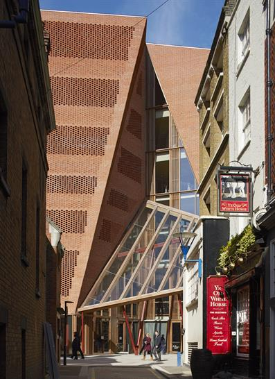 London School of Economics and Political Science, Saw Swee Hock Student Centre, London by O