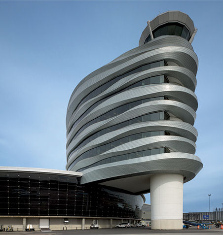 Edmonton International Airport Office and Control Tower, Edmonton, Canada by DIALOG
