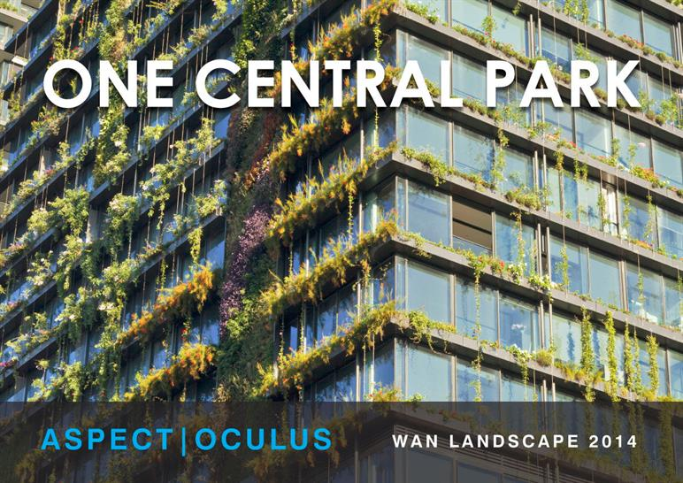 One Central Park in Sydney, Australia by Aspect Oculus