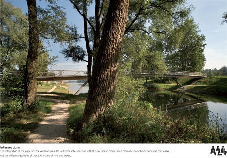 Mangfall Park in Bavaria by A24 Landschaft Landschaftarchitektur GmbH