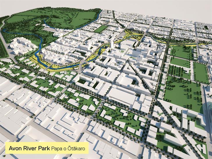 Blueprint for Christchurch Central Recovery Plan, Christchurch, New Zealand
