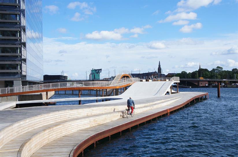 The Kalvebod Waves, Copenhagen, Denmark