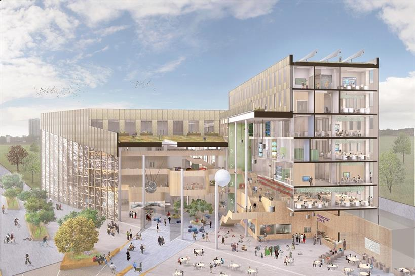 Newcastle University Urban Sciences Building