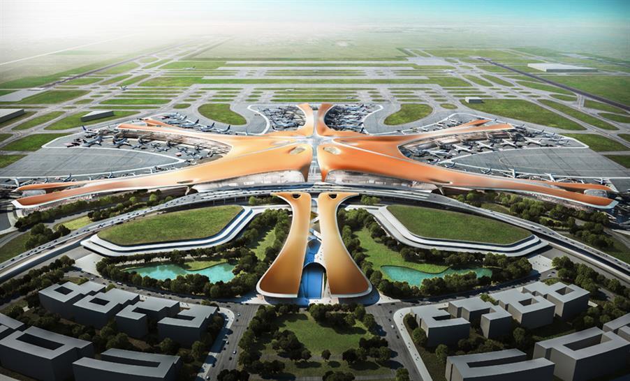 Image: ADP Ingeniérie & Zaha Hadid Architects