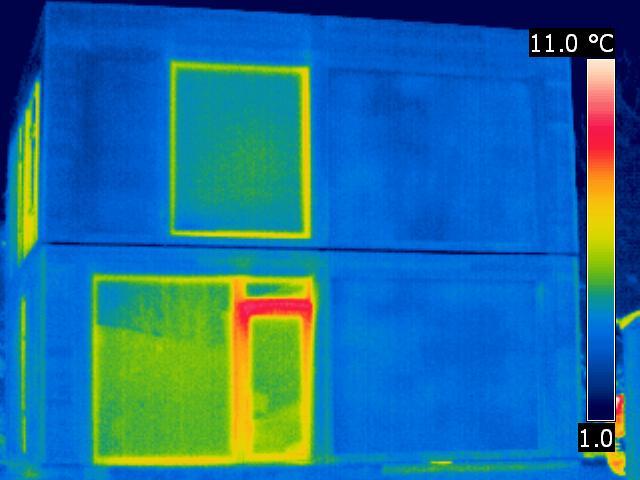 Balehaus thermal image