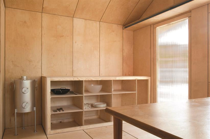 Liina Transitional Shelter by Aalto University Wood Program