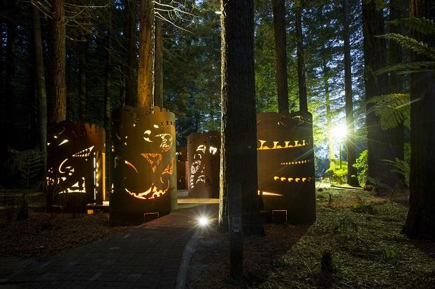 Redwood Visitor Centre Public toilets by Darryl Church Architecture Ltd
