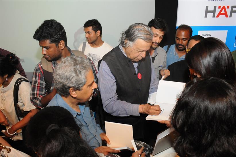 Raj Rewal © Charles Correa Foundation