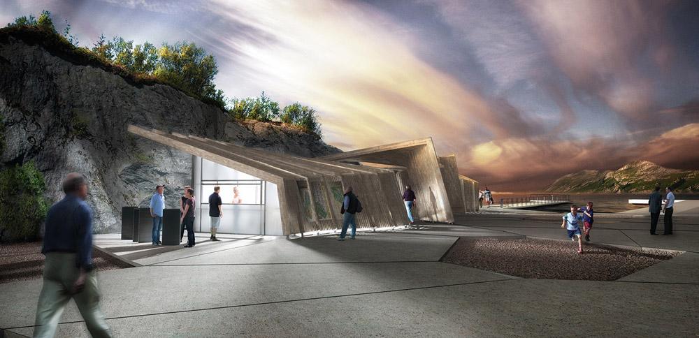 Haugen-Zohar Arkitekter Wooden ferry terminal