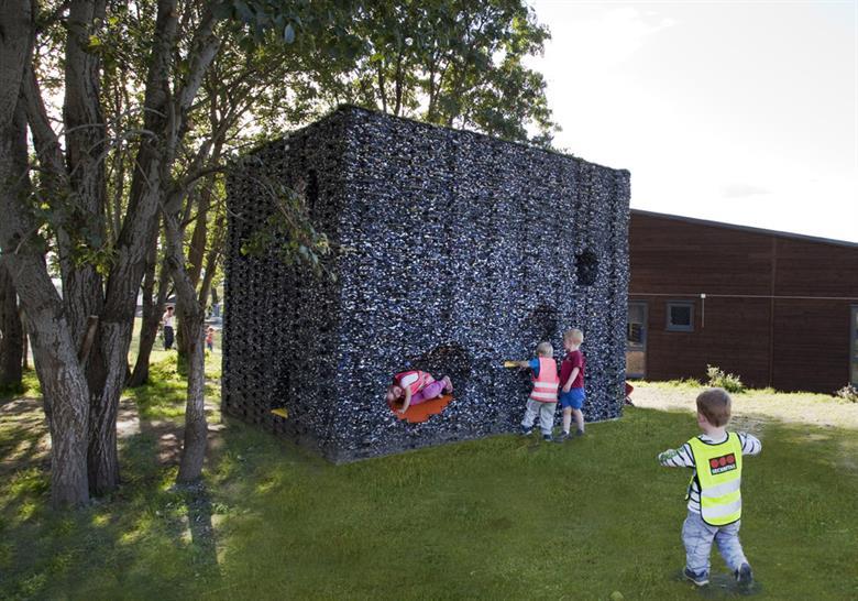 Haugen-Zohar Arkitekter Cave for kids