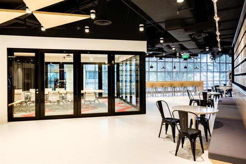 Leo Burnett, Singapore by SCA design Pte Ltd (member of the ONG&ONG Group)