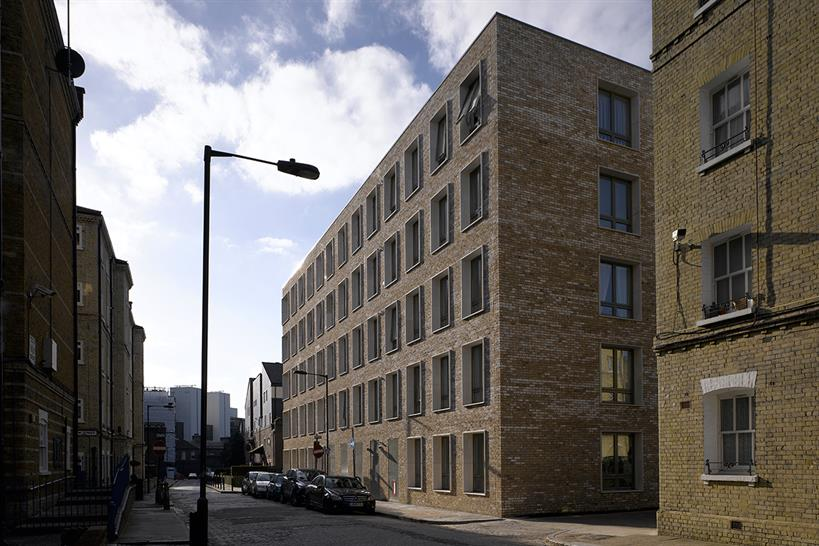 Darbishire Place, Peabody Housing, by Niall McLaughlin Architects. Rob Parrish