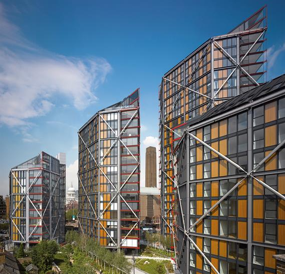 NEO Bankside by Rogers Stirk Harbour + Partners. Rob Parrish
