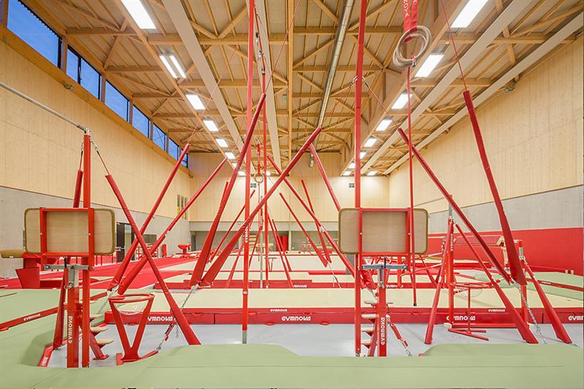 Hacine Chérifi Gymnasium by Tectoniques © 11H45