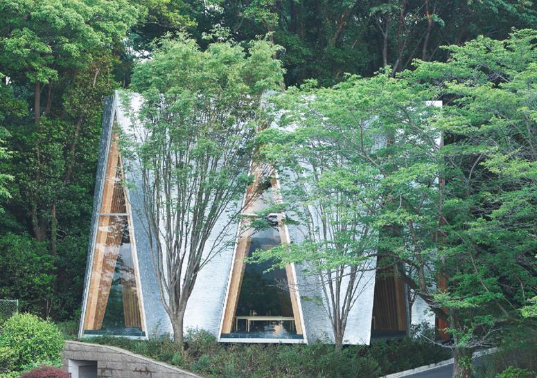 Sayama Forest Chapel by NAP Architects © Koji Fujii/Nacasa & Partners Inc