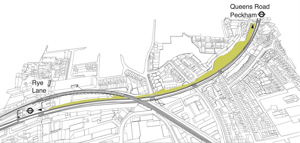 The Peckham Coal Line