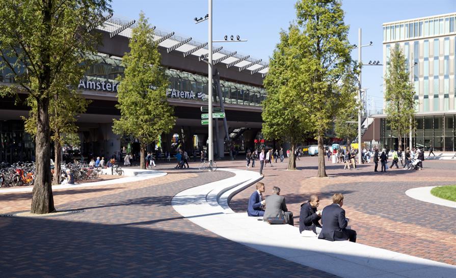 """<a href=""""http://backstage.worldarchitecturenews.com/wanawards/project/hoekenrode-square/?source=sector&selection=shortlist"""">Hoekenrode Square</a> © karres+brands"""