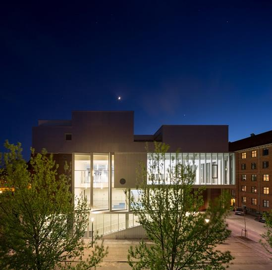 "<a href=""http://backstage.worldarchitecturenews.com/wanawards/project/sundbyoster-hall-ii/?source=sector&selection=longlist"" target=""_blank"">Sundbyoster Hall II</a> by Dorte Mandrup Arkiteker © Adam Mørk"