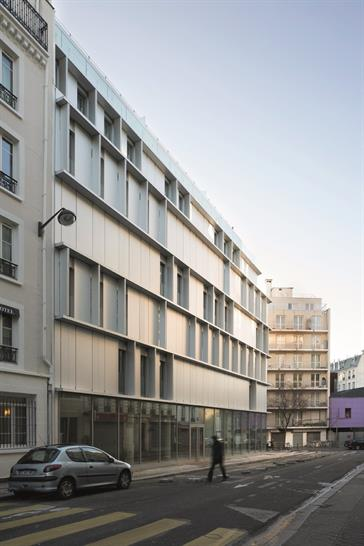 """<a href=""""http://backstage.worldarchitecturenews.com/wanawards/project/aluminium-tip/?source=sector&selection=longlist"""" target=""""_blank"""">ALUMINIUM TIP</a> by BABIN+RENAUD architects © Cecile Septet"""
