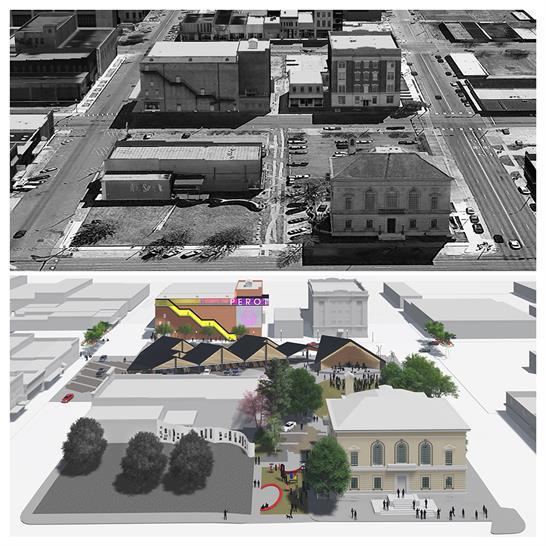 "<a href=""http://bit.ly/1Tca6el"" target=""_blank"">Texarkana Art Park and Perot Theatre Revitalization</a> by University of Arkansas Community Design Center"