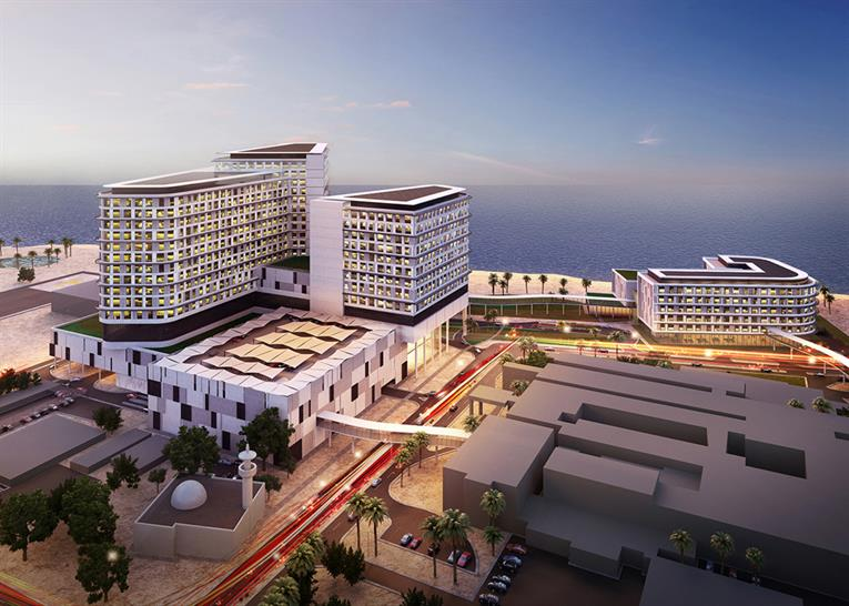 """<a href=""""http://backstage.worldarchitecturenews.com/wanawards/project/new-maternity-hospital/?source=sector&selection=all"""" target=""""_blank"""">New Maternity Hospital</a> by PACE Kuwait"""
