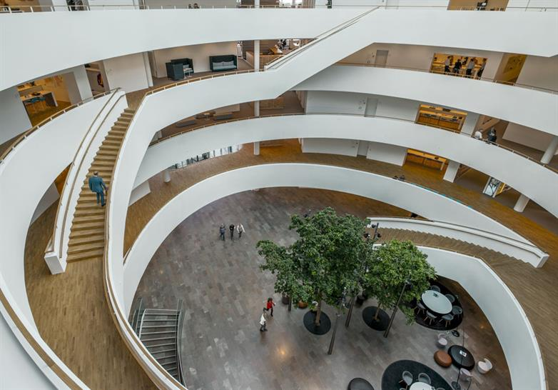 """<a href=""""http://backstage.worldarchitecturenews.com/wanawards/project/novo-nordisk-corporate-centre-new/?source=sector&selection=longlist"""" target=""""blank"""">Novo Nordisk Corporate Centre</a> by Henning Larsen Architects &copy; Jens Lindhe"""