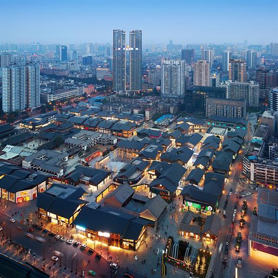 "<a href=""http://bit.ly/1mKdpeJ"" target=""_blank"">Sino-Ocean Taikoo Li Chengdu</a> by The OVAL PARTNERSHIP, ELENA GALLI GIALLINI LTD and SPAWTON ARCHITECTURE"