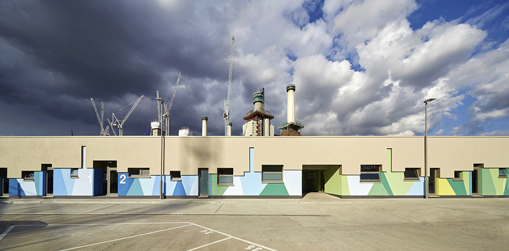 """<a href=""""http://backstage.worldarchitecturenews.com/wanawards/project/battersea-dogs-cats-home-bdch-mary-tealby-kennels/?source=sector&selection=longlist"""" target=""""_blank"""">Battersea Dogs & Cats Home (BDCH)</a> by Jonathan Clark Architects"""