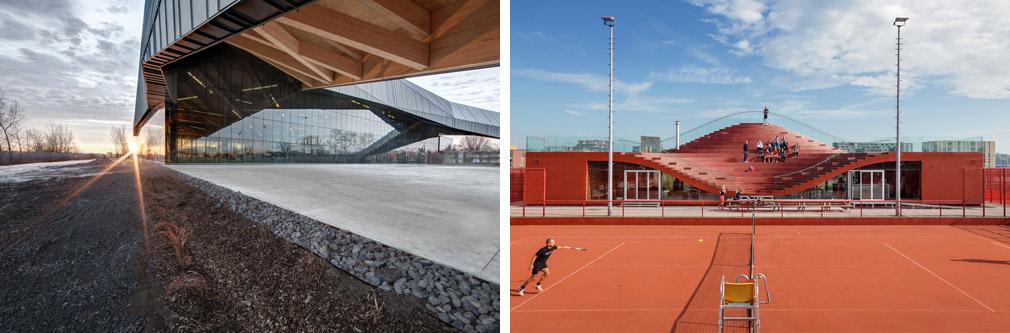 "<a href=""http://bit.ly/1SwGUKB"" target=""_blank"">Stade de soccer de Montréal</a> &copy; Olivier Blouin / <a href=""http://bit.ly/1VUr02u"" target=""_blank"">The Couch</a> &copy; Daria Scagliola & Stijn Brakkee"